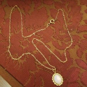 Jewelry - Vtg. Faux Opal Necklace